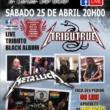 Hangar: Live com tributo ao Metallica no sábado (25) em Curitiba e na sua casa