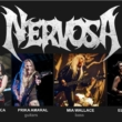 Nervosa anuncia que está gravando novo disco