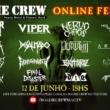 Roadie Crew: equipe divulga atrações da 3ª edição do festival online