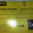 Especial: … PRA FICAR!!! – Napalm Death no Brasil (1990)