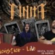 Finita: Live com set acústico será realizada nesta sexta no Youtube e Facebook