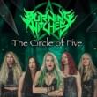 """Burning Witches: Pré-venda oficial do novo EP em vinil """"The Circle Of Five"""" começa hoje"""