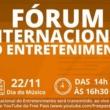 Fórum Internacional do Entretenimento, com Andreas Kisser e outros grandes nomes, e a retomada do showbizzpós-Covid 19