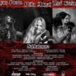 """Sabbatonero: estreia versão de """"Killing Yourself to Live"""" do Black Sabbath com Prika Amaral e May Puertas"""
