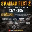 Shaman anuncia segunda edição de seu festival online para o dia 13 de Julho