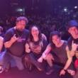 Föxx Salema: Confira vídeos de show de retorno aos palcos
