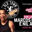 Marcos Kleine apresenta Stand Up Rock com Nil Agra em Santo André neste domingo